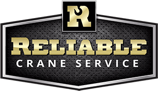 Reliable crane service logo