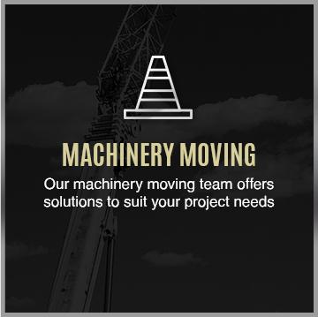Heavy Machinery Moving