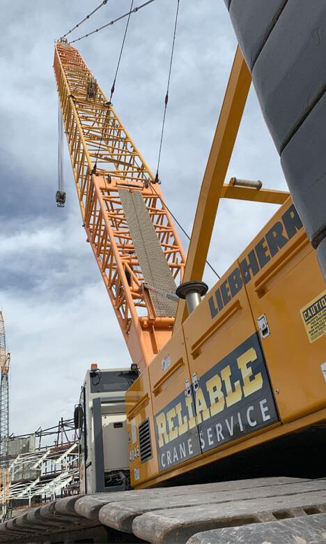 small crane service near me